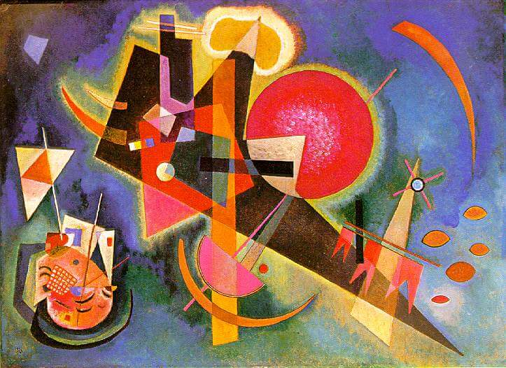 In Blue, 1925 by Wassily Kandinsky