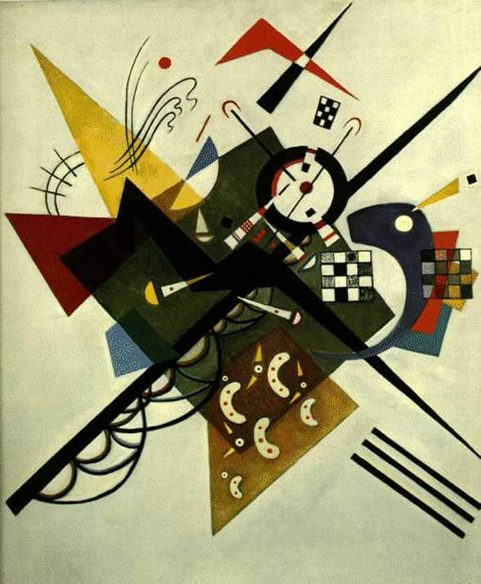 On White II , 1923 by Wassily Kandinsky