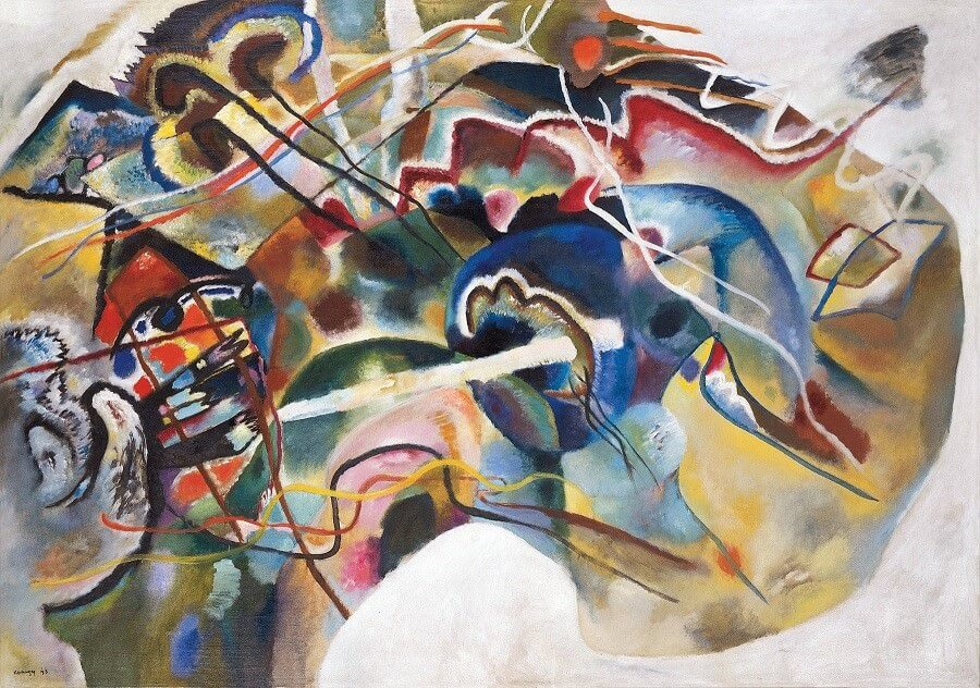 Painting with White Border, 1912 by Wassily Kandinsky