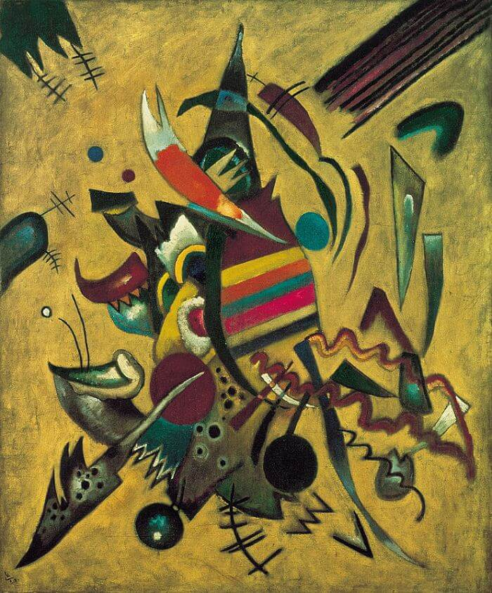 Picture with Points, 1919 by Wassily Kandinsky
