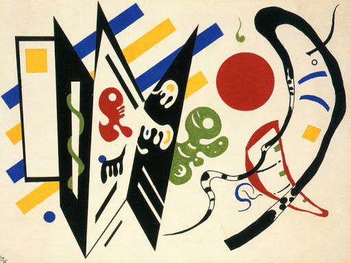 Reciprocal, 1935 by Wassily Kandinsky