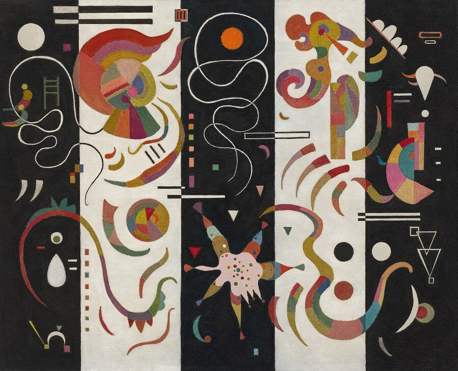 Striped, 1934 by Wassily Kandinsky
